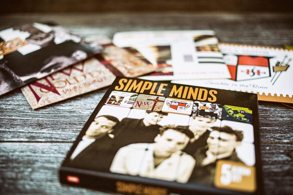 Simple Minds 5 CD Box Set